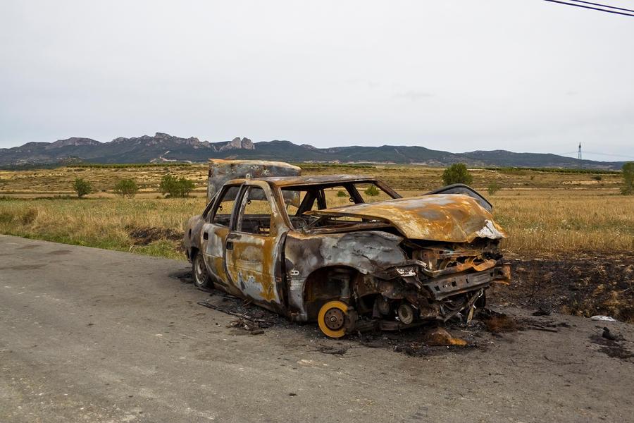 burned car 2