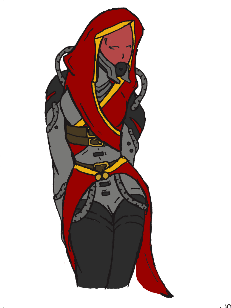 Ka'Ray vas Taedor, Quarian OC by Silent-Black-Sky45