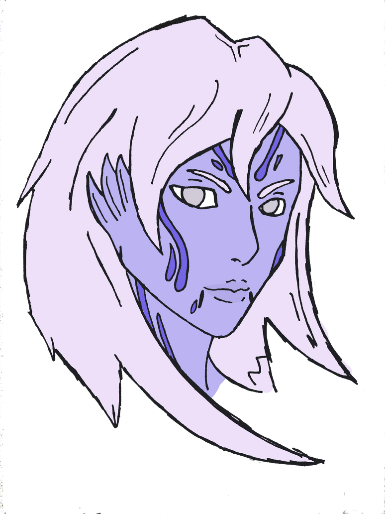Ka'Ray vas Taedor unmasked by Silent-Black-Sky45