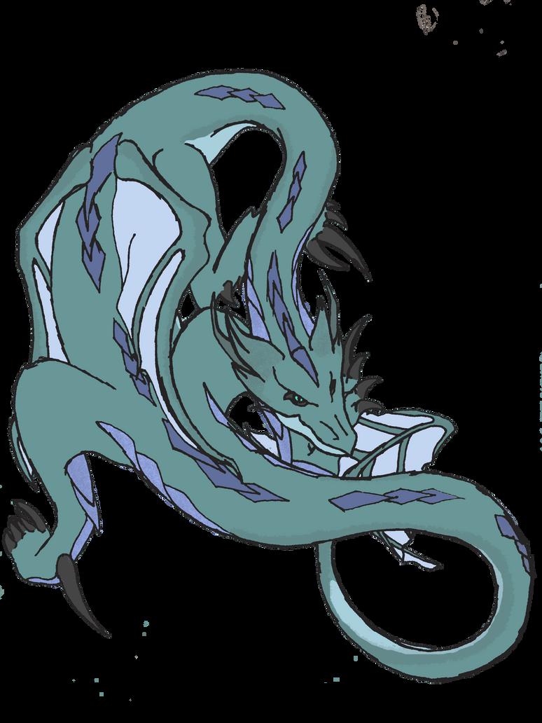 Wormneck Dragon by Silent-Black-Sky45
