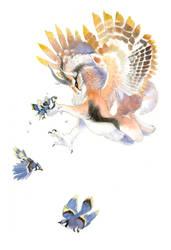 Catching Blue Jays by seraphxviii