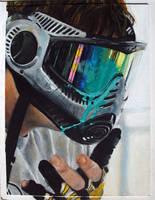 Facefull - Oil Pastel by seraphxviii