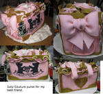 Purse cake...