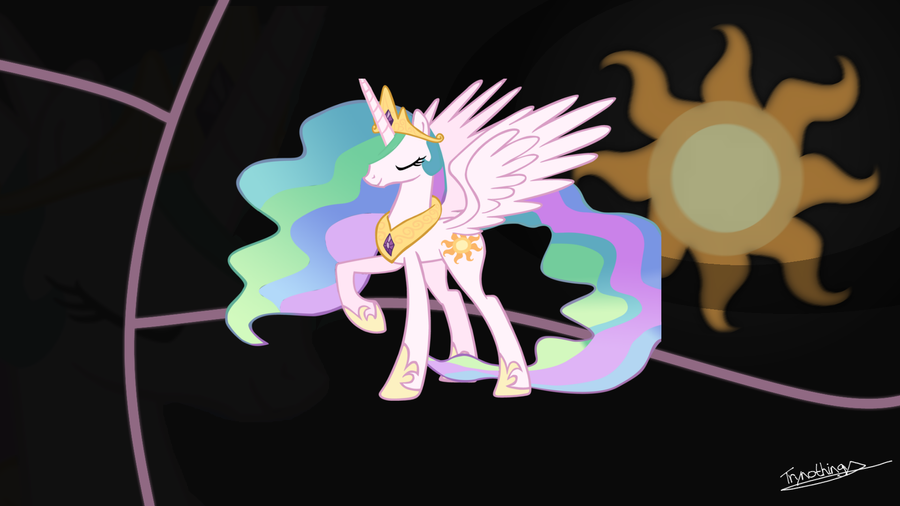1920x1080 mlp desktop wallpaper princess celestia by - Princess luna screensaver ...