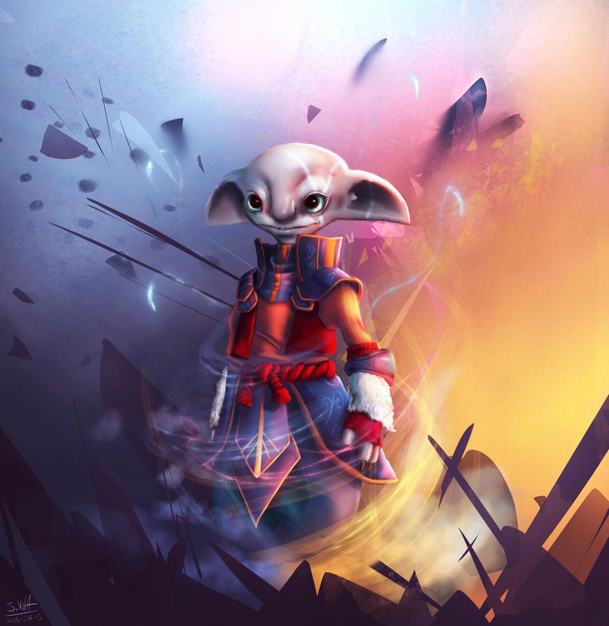 Asura Elementalist by gamespeaker13