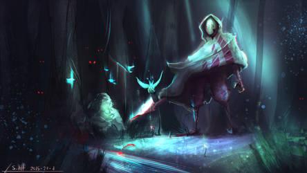 Midnight Hunt by SK-Vela
