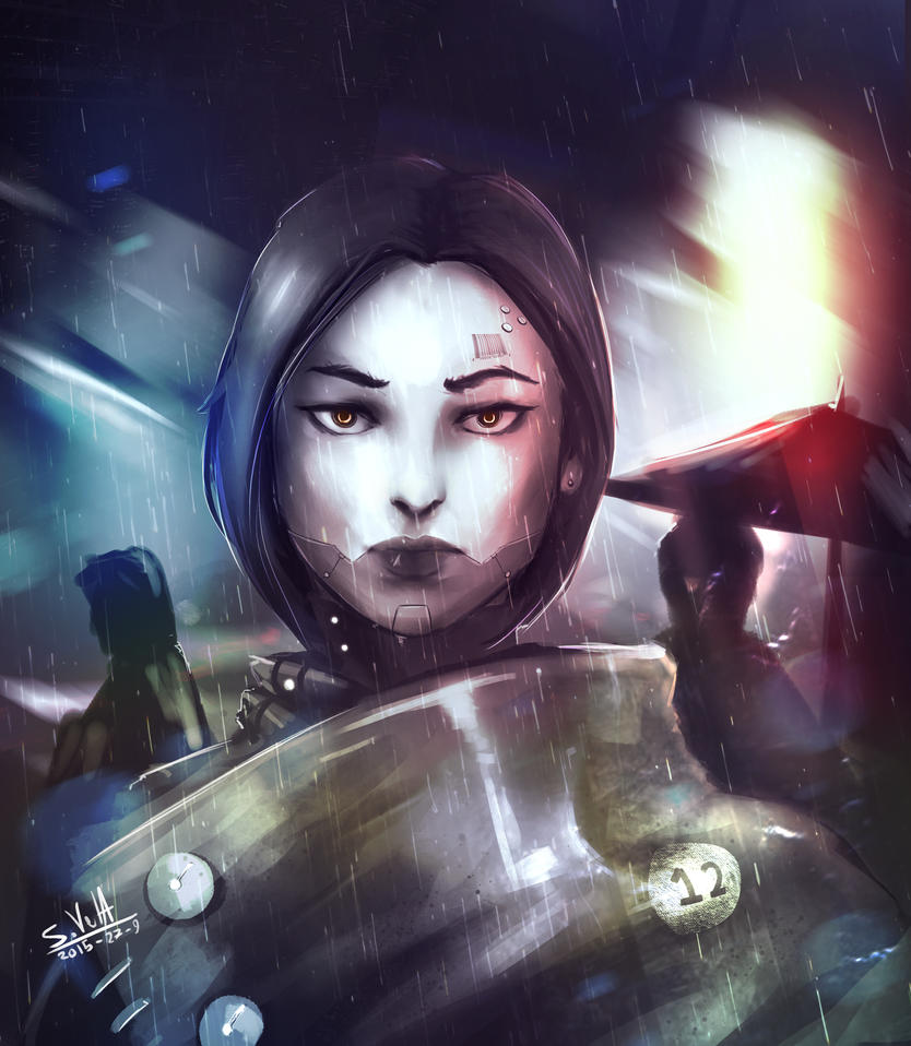 Cyborg Chick by gamespeaker13