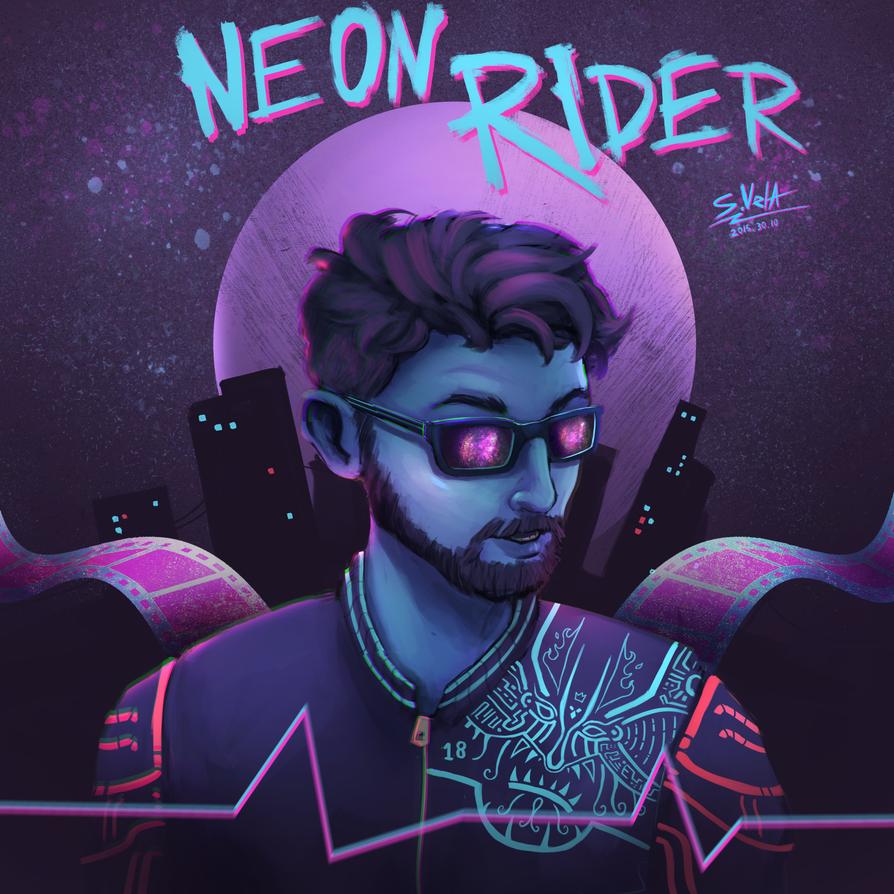 Neon Rider by SK-Vela ...