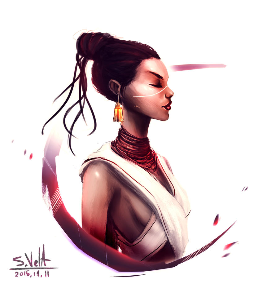 Tribal Lady by gamespeaker13