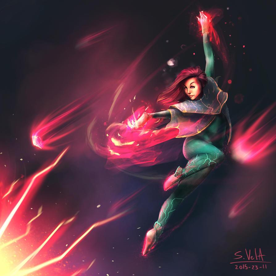 Magic Girl by gamespeaker13