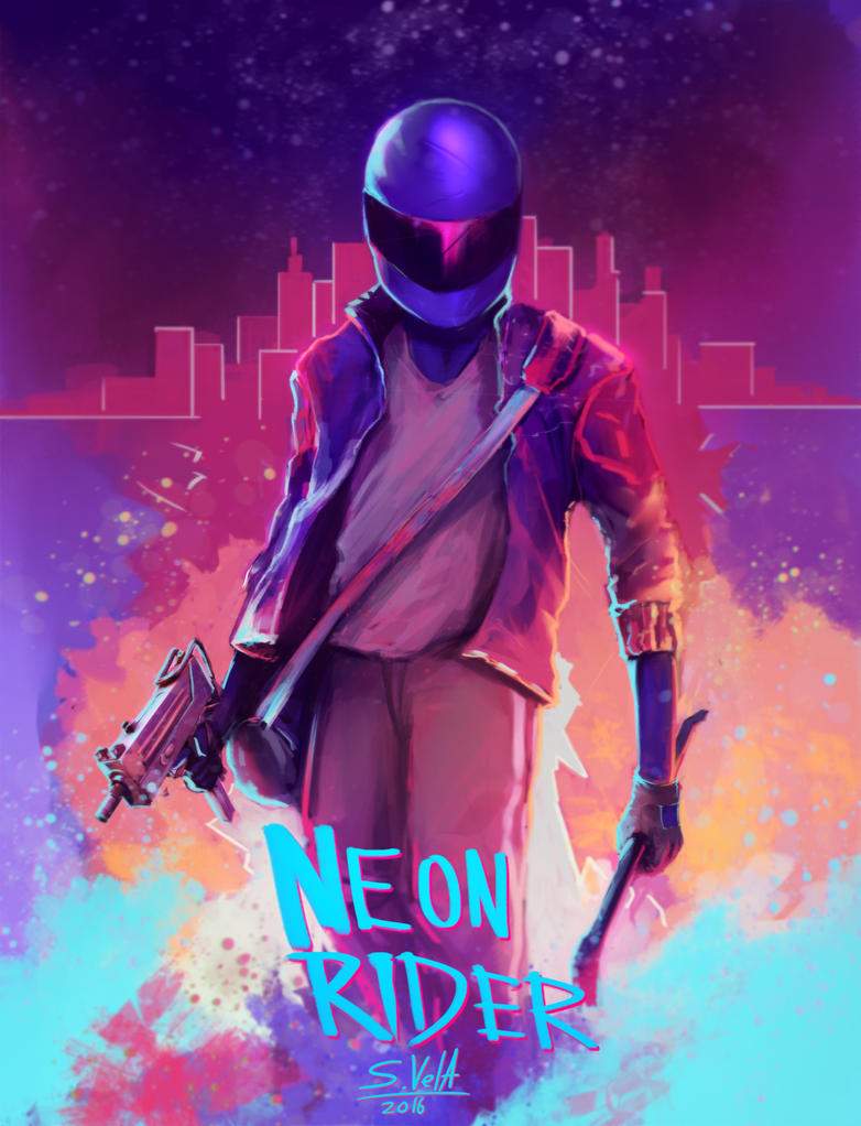 Neon Rider!!! by SK-Ve...
