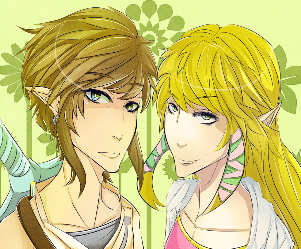 Skyward Sword ZeLink by sakuradrops37 on DeviantArt Zelink Skyward Sword