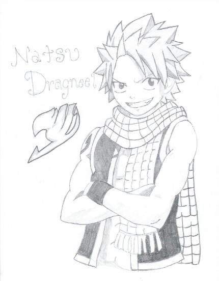 Fairy Tail Natsu Drawings