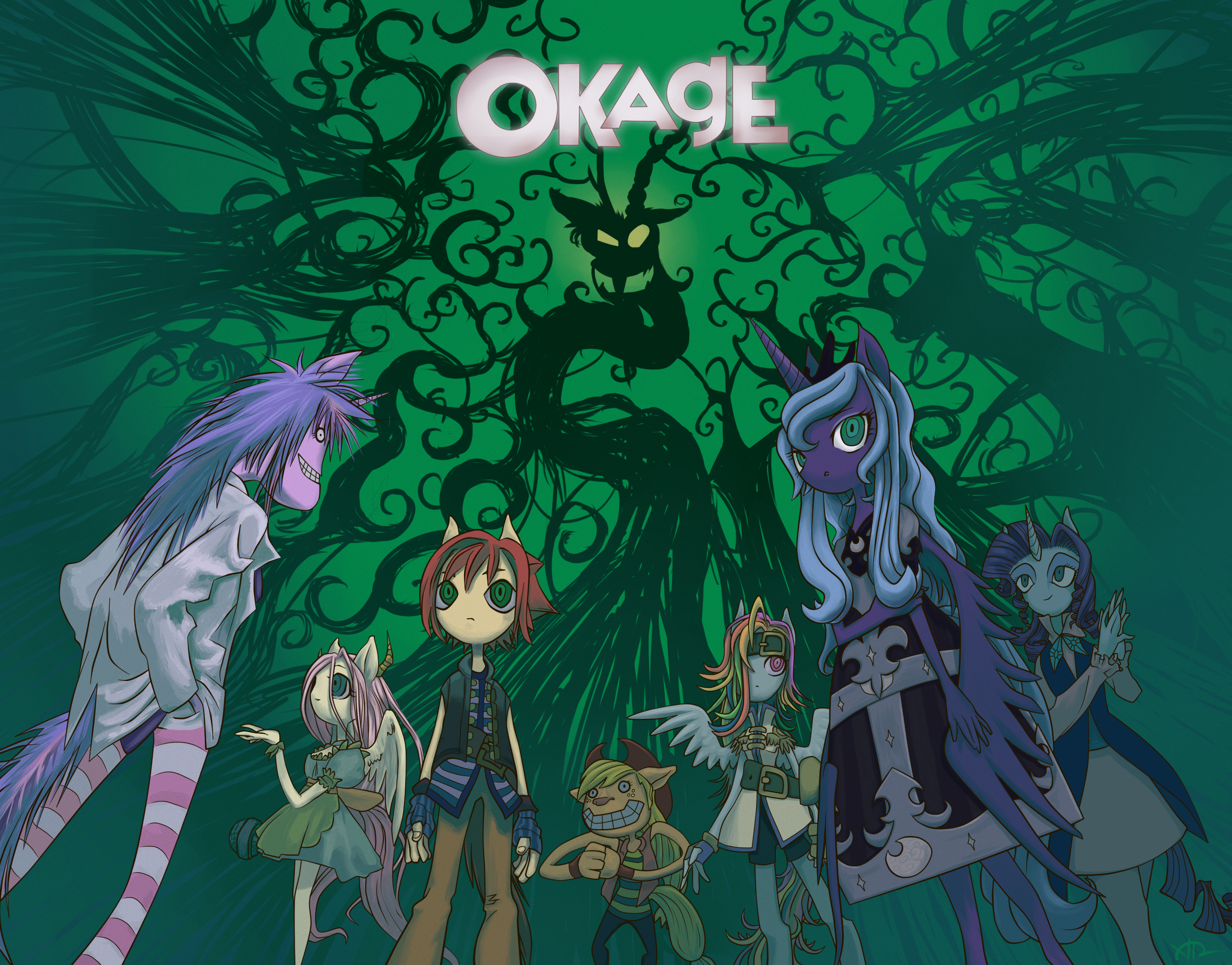 Okage: In the Shadow of Discord by Bluest-Ayemel
