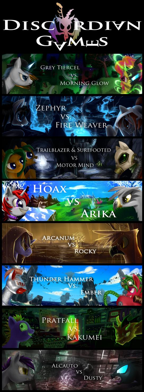 Discordian Games Round 1 by Bluest-Ayemel