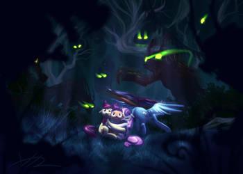 Fight For Flight: Timberwolf Encounter by Bluest-Ayemel