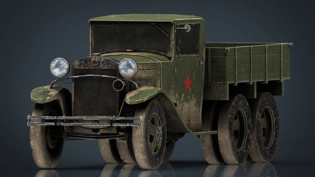 GAZ AAA TRUCK DIRT VERSION