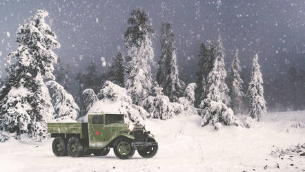 GAZ AAA TRUCK WINTER VERSION