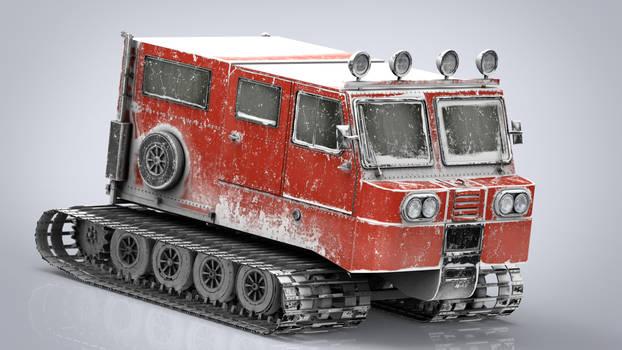 Snowcat 3d model by sanchiesp