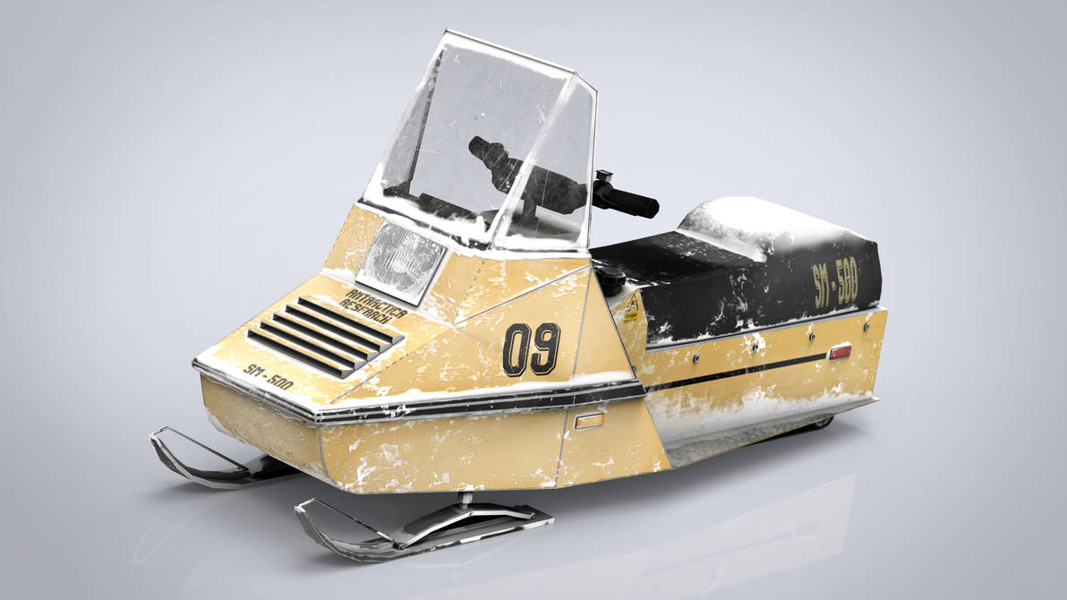 Snowmobile by sanchiesp