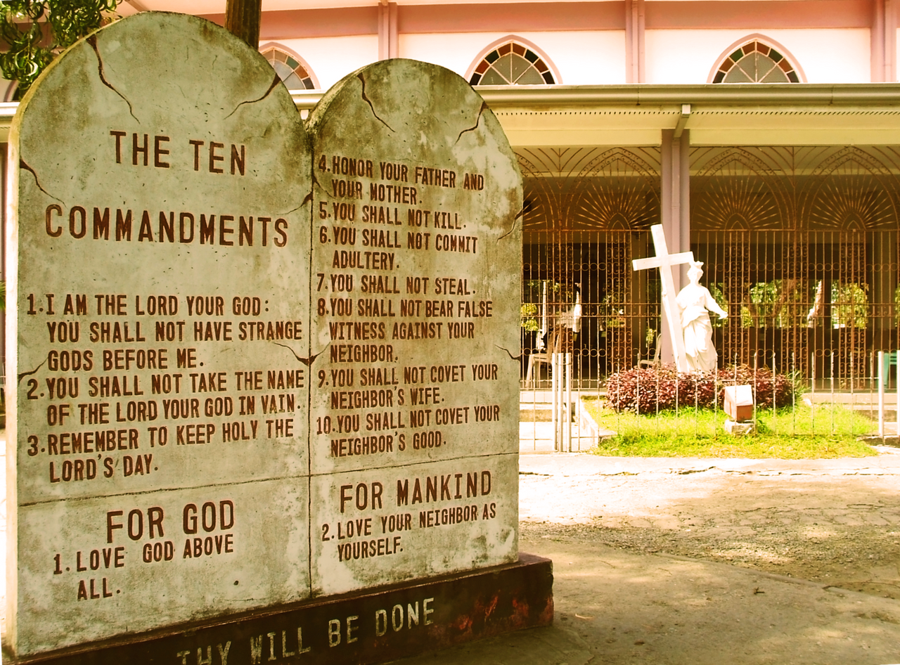 Ten Commandments by mchectr