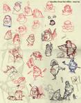 doodles at work-may2009