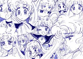 Usagi - Sailor moon pen by kairimiao13