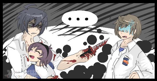:Corpse party: Back off. by Veonara