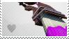 Splatoon stamp: Octobrush user by Veonara