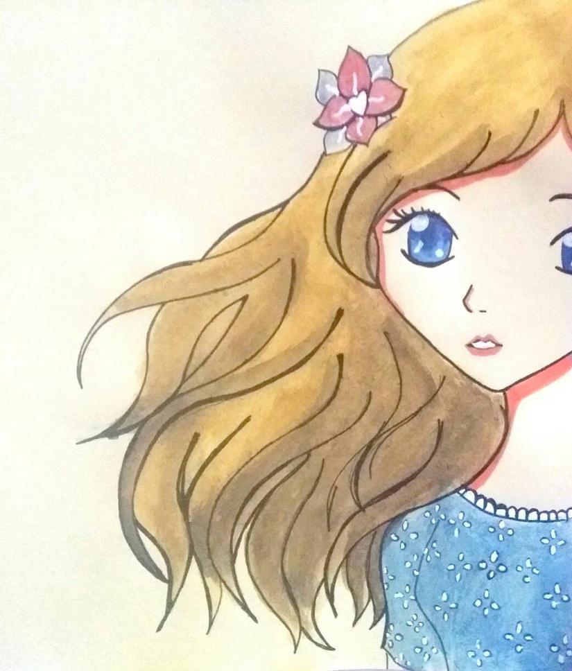 Anime Girl by AngelineDeeMG