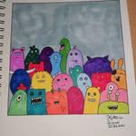 Monster Doodle