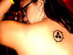 Sasuke's Cursed Seal Tattoo