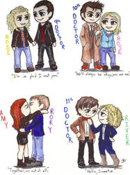 Doctor Who-Couples by BrerBunny13