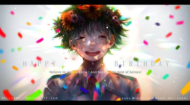 Happy birthday Deku !