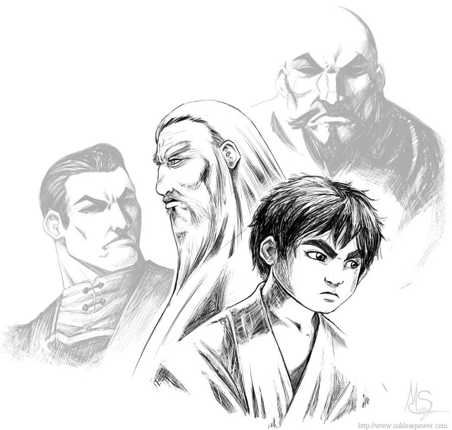 Wong: Old and Young Part 2 by ExMile