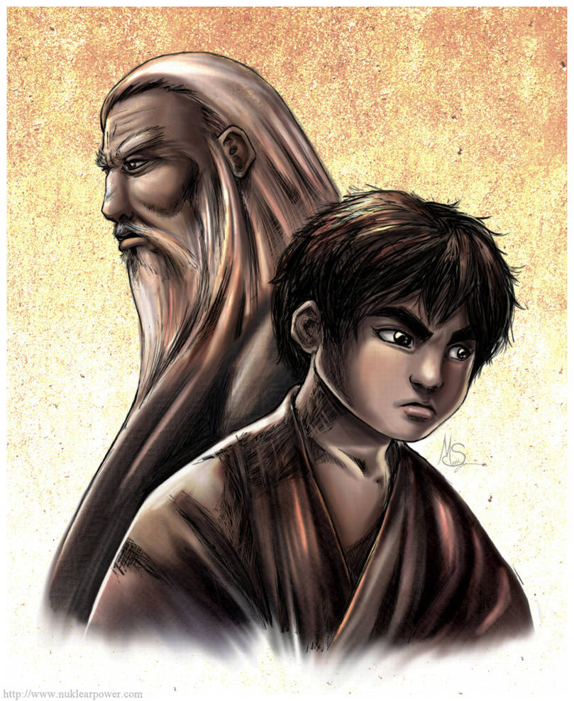 Liu Wong: Old and  Young by ExMile