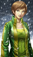 Chie Snowfall by ExMile