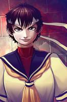 Sakura Kasugano Fancomic: Cover Image by ExMile