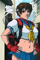 Sakura Kasugano: Ready to Rumble by ExMile