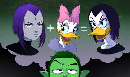 Beast Boy has an Epiphany by ExMile