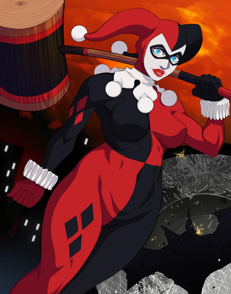Harley Quinn: Smashing the Signal by ExMile