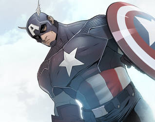 Captain America by ExMile