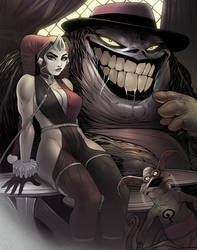 Joker the Hutt and Oola Quinn by ExMile