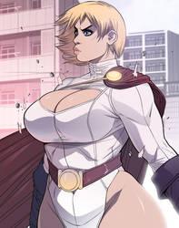 Power Girl: Bulletproof (Version 2)