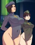 Jill and Rebecca: D.O.L.L.S