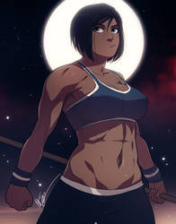 Korra: Night Workout by ExMile