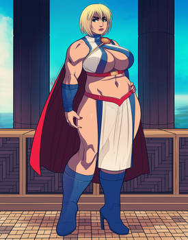 Power Girl: Alternative Outfits