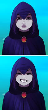 Raven: Silly Smile