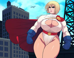 Power Girl: The Woman of Two Days After Yesterday