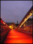 Footbridge. by estachos
